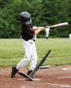 A t ball batter