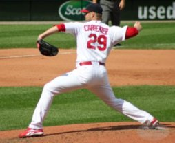 Chris Carpenter's stride