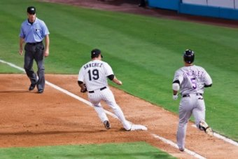 See How the Pitcher Beats the Runner to First