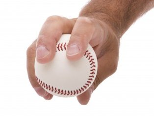 The four seamer grip.