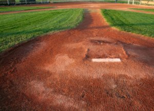 It is a long ways to Home Plate