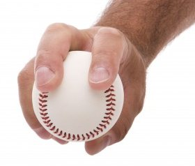 Sinker pitching grip