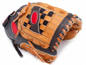 Tee Ball glove will be smaller than this