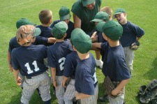This could be you coaching a t ball team