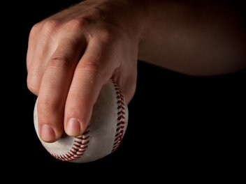 The slider pitching grip