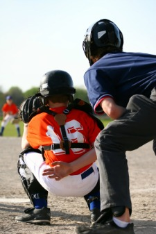 Try to help young umpires
